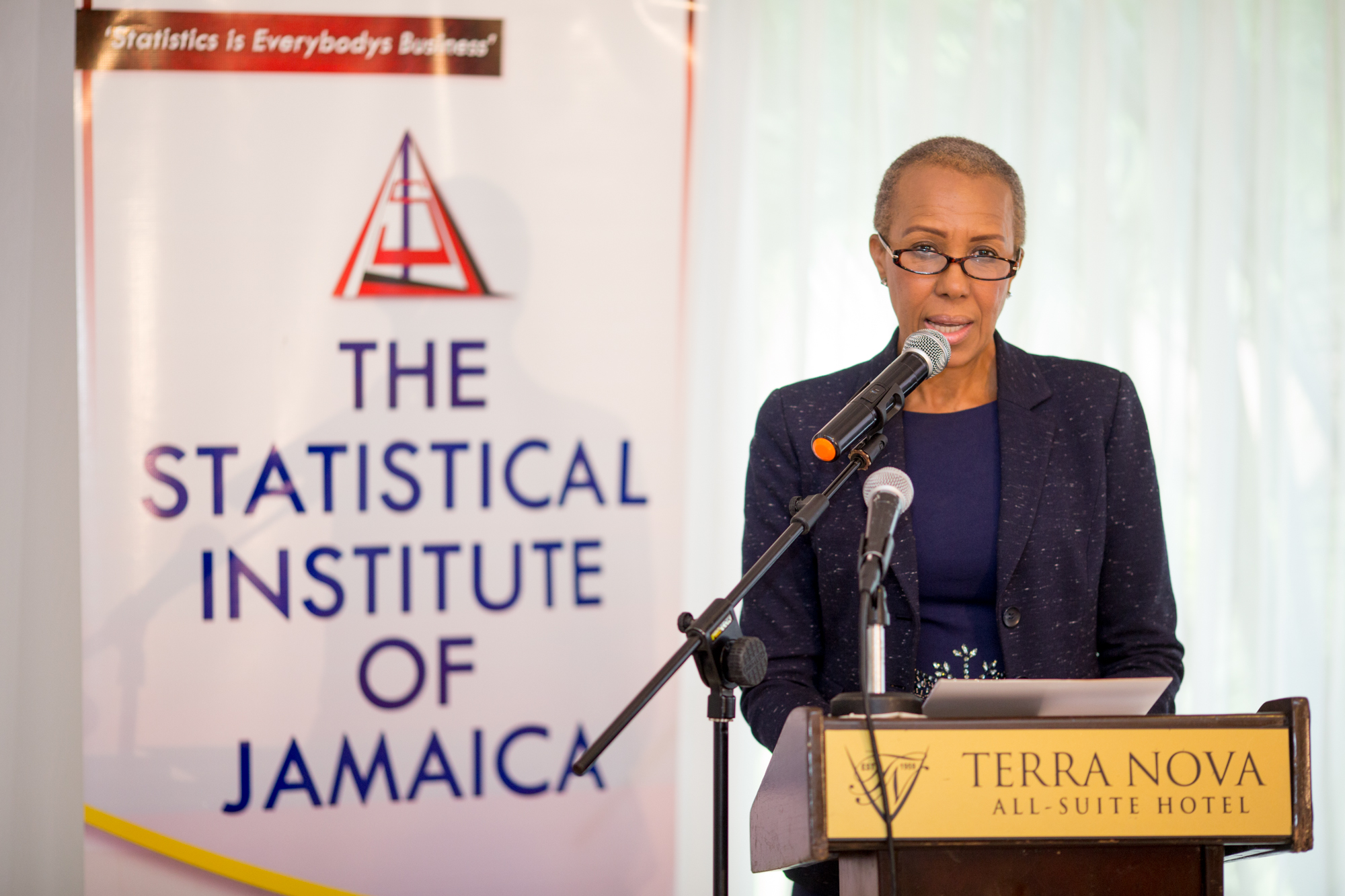Honourable Fayval Williams, Minister of State, Ministry of Finance and the Public Service, Jamaica